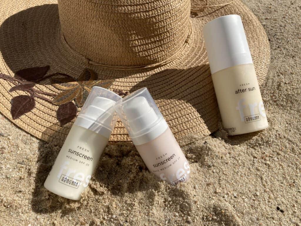Natürlicher und frischer Sonnenschutz von Ringana